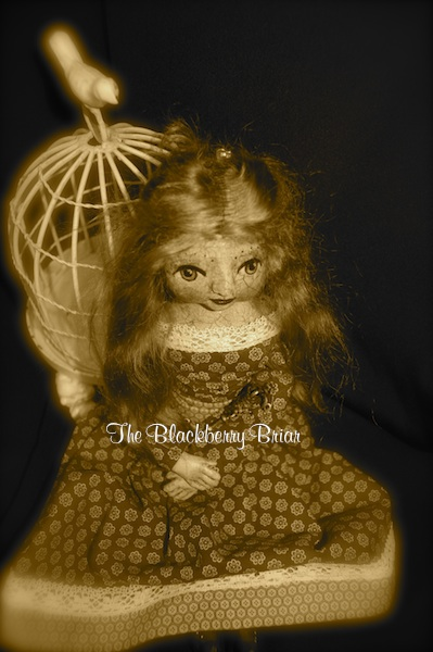 Red doll sepia