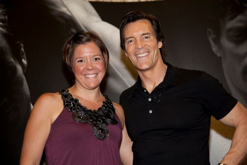 Msylvia me and Tony Horton